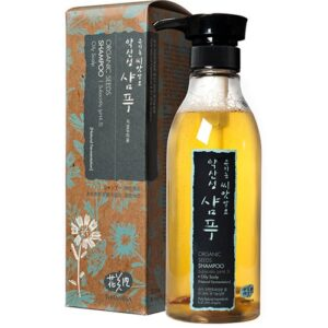 Whamisa Organic Seeds Shampoo For Oily Scalp test ekologiskt schampo