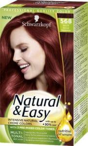 Schwarzkopf Natural & Easy intensiv röd